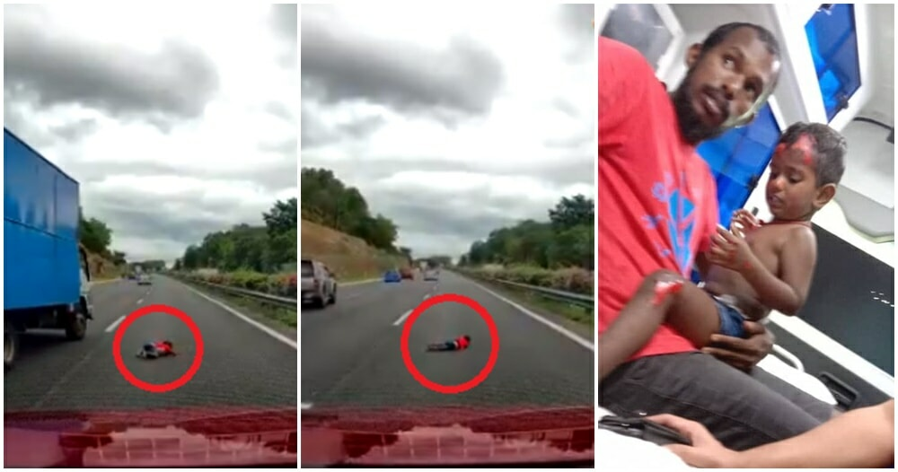 Video: Baby Gets Flung Out Of Civic After Colliding With Myvi Racing Illegally On PLUS Highway - WORLD OF BUZZ 7