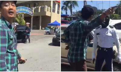 Video: M'sian Man Yells At Kajang Officer For Giving Him a RM10 Saman & Kicks Person Recording - WORLD OF BUZZ 1