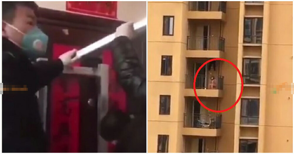 Video: Wuhan Patients Forced Into Confinement By Crazy Mob, Left To Die In Their Homes - WORLD OF BUZZ