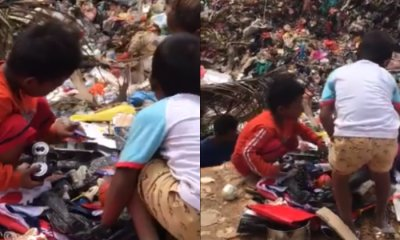 Videos Of Orang Asli Children Rummaging For Toys In Landfill Leaves Netizens Saddened - WORLD OF BUZZ 3