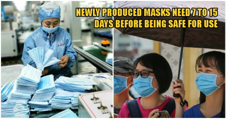 WARNING: Using Masks That Have Just Been Freshly Produced May Put Your Health At Risk - WORLD OF BUZZ
