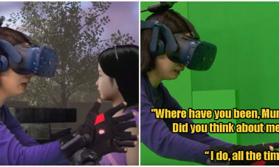 Watch How A Mother 'Reunites' With Her Deceased Daughter One More Time Through Virtual Reality - WORLD OF BUZZ 7