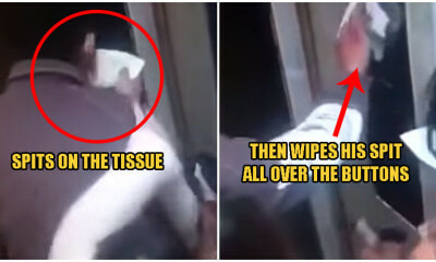 Watch: Man Deliberately Spits On Tissues & Wipes Them Over Elevator Buttons Amid Wuhan Virus Crisis - WORLD OF BUZZ
