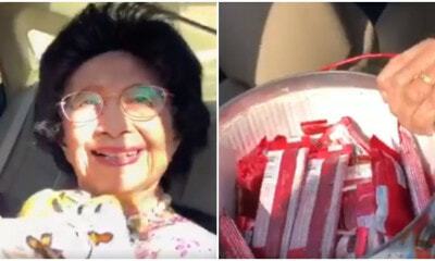 Watch: Tun Hasmah Gives Out Kit Kats To The Media And We Can't Handle The Cuteness! - World Of Buzz