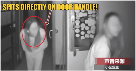 Watch: Wuhan Woman Purposely Spits On Doorknob, Has 30 Infected People In Her Residence - WORLD OF BUZZ 1