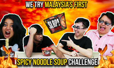 We Try Malaysia's First Spicy Noodle Soup Challenge - WORLD OF BUZZ