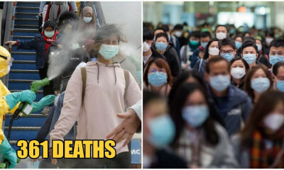 Wuhan Virus Deaths In China Exceeds SARS Death Toll, Over 360 Dead With 17,000 Confirmed Cases - WORLD OF BUZZ 4