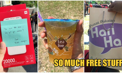 Xiaomi Powerbanks, New Clothes, Milo; Here's All The Free Stuff Media Got At Istana Negara Yesterday - WORLD OF BUZZ 7