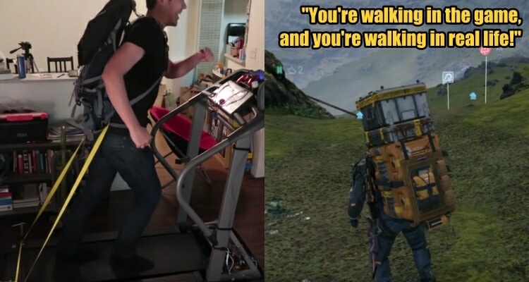 YouTuber Converts a Treadmill into a PS4 Controller to Exercise While He Plays Death Stranding - WORLD OF BUZZ 2
