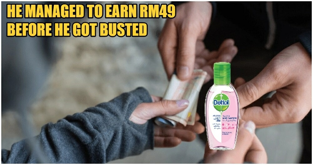 13yo Boy Sells One Pump of Hand Sanitiser For RM2.75, Gets Sent Home From School - WORLD OF BUZZ