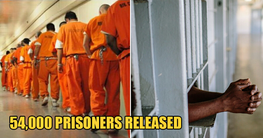 54,000 Prisoners in Iran Temporarily Released to Prevent the Spread of Covid-19 - WORLD OF BUZZ