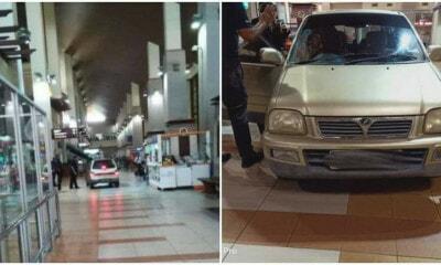 55yo Woman Drives Her Perodua Kancil into Kuala Terengganu Airport, - WORLD OF BUZZ 2