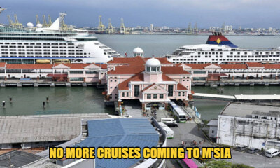 M'sia Temporarily Bans All Cruise Ships Coming Into The Country As A Means To Contain Covid-19 - WORLD OF BUZZ