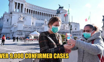 Italy is Now On Total Lockdown With 9,172 Cases & - WORLD OF BUZZ