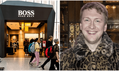 Comedian Legally Changes Name To Hugo Boss After Fashion Brand Sues Small Businesses & Charities Named 'Boss' - WORLD OF BUZZ