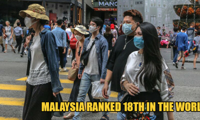 Malaysia is Ranked 18th In The World For Covid-19 Positive Cases - WORLD OF BUZZ 1