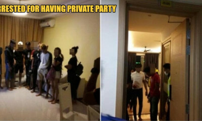 30 People Get Arrested In JB For Breaching MCO By Having A Private Party, Tests Positive For Drugs - WORLD OF BUZZ