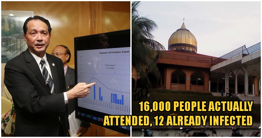 Breaking: 16,000 People Attended Sri Petaling Mosque Gathering, Not 10,000; 14,500 Are M'sians - World Of Buzz 2