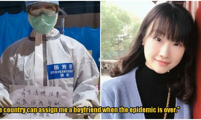 Chinese Nurse Wants Government To Find Her Boyfriend As Reward For Working During Coronavirus - WORLD OF BUZZ 1