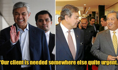 Zahid's Corruption Trial Postponed As He Needs to Discuss With Muhyiddin About The New Cabinet - WORLD OF BUZZ