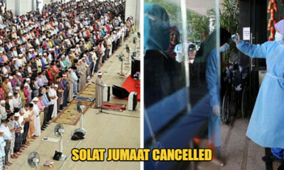 Covid-19: Solat Jumaat Cancelled In Perlis After KKM's Decision To Hold Off Big Scale Gatherings - WORLD OF BUZZ