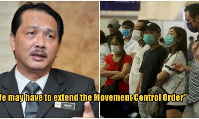 "Covid-19: ""We May Have To EXTEND Movement Control Order"" Says M'sian Health Director-General - WORLD OF BUZZ 1"