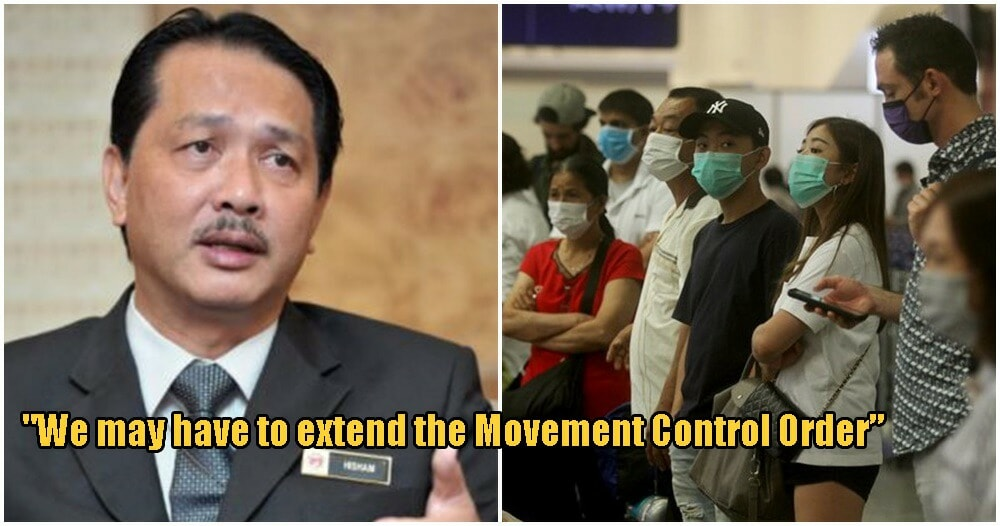 """Covid-19: """"We May Have To EXTEND Movement Control Order"""" Says M'sian Health Director-General - WORLD OF BUZZ 1"""