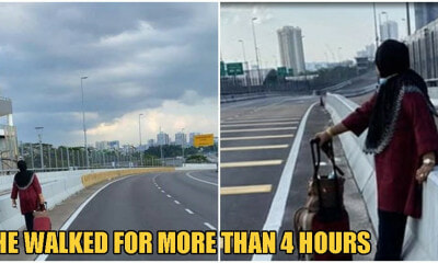Dedicated Mum & Wife Walks From Johor To SG To Take Care Of Grandkids & Sick Husband - WORLD OF BUZZ