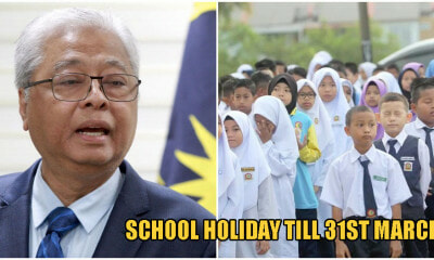 Defence Minister: School Holidays Will Be Extended Till March 31st, Parents Don't Need To Leave The House - WORLD OF BUZZ 1