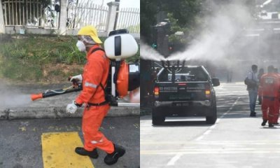 Disinfection Operation Currently Underway In Sri Petaling, Other Areas To Follow - World Of Buzz