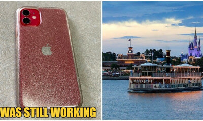 Disney World Returns Fully Functioning iPhone That Was Submerged In Lake For 2 Months To Family - WORLD OF BUZZ 3