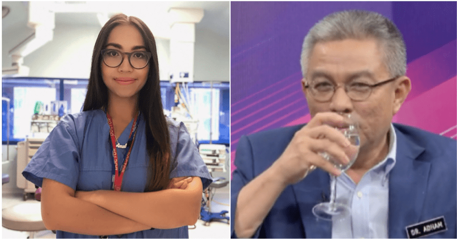 Dr Amalina: There Is No Evidence Of Covid-19 Drinking Water Tips By The Minister Of Health - WORLD OF BUZZ