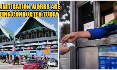 Ebor Toll Plaza Closed After Staff Member Tested Positive For Covid-19, Sanitisation Works Underway - WORLD OF BUZZ 2