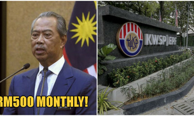 EPF Members Can Make A Monthly Withdrawal Of RM500 For 12 Months Beginning 1st April 2020 - WORLD OF BUZZ