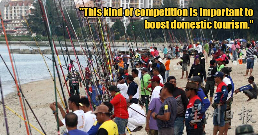 Fishing Competition With Over 1,500 Participants Held in Port Dickson Amidst Covid-19 Outbreak - WORLD OF BUZZ