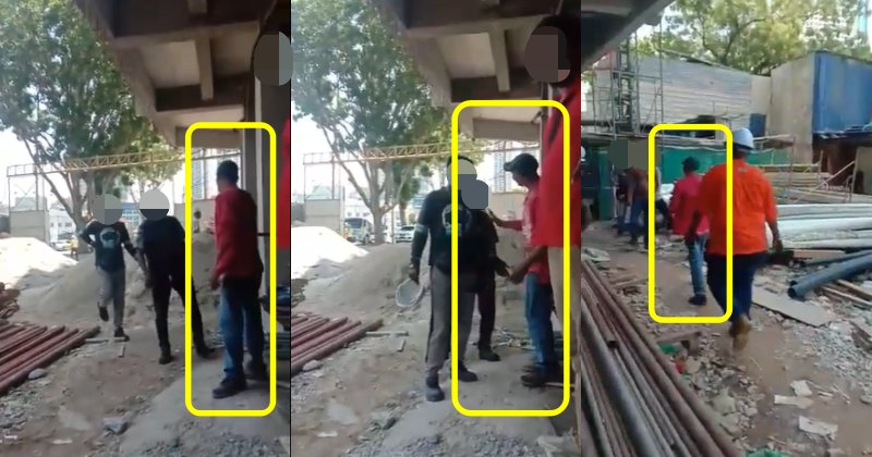 Foreign Construction Worker With No Salary Voice Frustration At Employers - WORLD OF BUZZ 2
