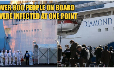 Health Authorities Find Traces of Covid-19 In Cabins 17 Days After Passengers Leave Diamond Princess - WORLD OF BUZZ