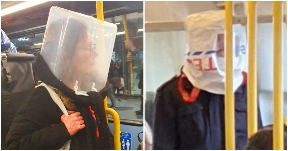 Hilarious Photos Shows Creative Ways Londoners Use to Avoid Being Infected with Covid-19 - WORLD OF BUZZ 9