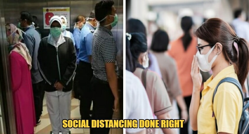 Hospital In Klang Practices Social Distancing By Permitting Only 8 People In Elevators At One Time - WORLD OF BUZZ