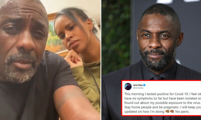 Idris Elba Tests Positive For Covid-19  After Being Exposed To Infected Person - WORLD OF BUZZ