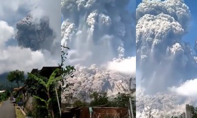 Indonesia's Mount Merapi Erupts For The Second Time In A Month - WORLD OF BUZZ
