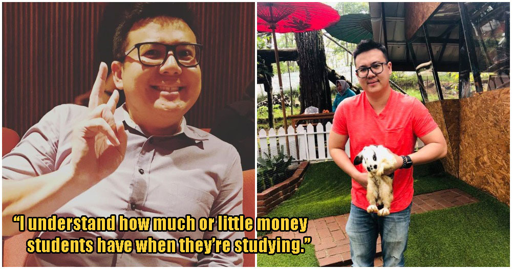 Inspiring M'sian Lecturer Buys Food & Groceries For His Students Who Don't Have Enough Money - WORLD OF BUZZ