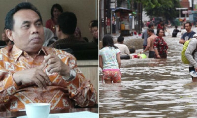 "Jakarta Official: ""Just Enjoy The Floodwaters, 2/3 Of The Human Body is Water Anyway"" - WORLD OF BUZZ 2"