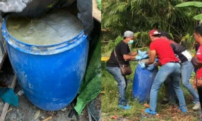 Kedah Man Murdered And Stuffed His Brother Inside A Barrel Filled With Cement - World Of Buzz