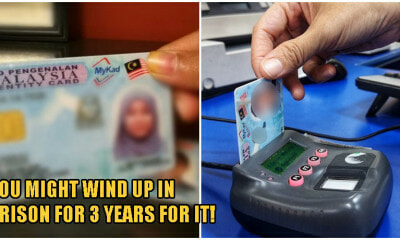 Love To Leave Your IC At Home When You Go Out? You May Face RM20,000 Fine or 3 Years Prison For It - WORLD OF BUZZ 2