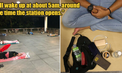 31yo M'sian Man Who Rushed to S'pore Before Lockdown is Now Homeless With No Belongings - WORLD OF BUZZ