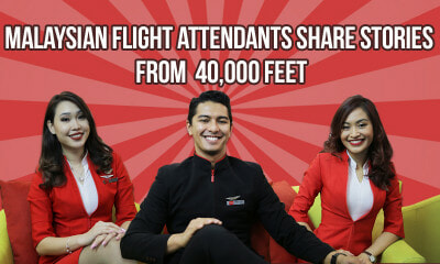 Malaysian Flight Attendants share Stories from 40,000 feet - WORLD OF BUZZ