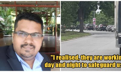 Malaysian Praises Police And Military For Risking Their Lives Doing Roadblocks During MCO - WORLD OF BUZZ