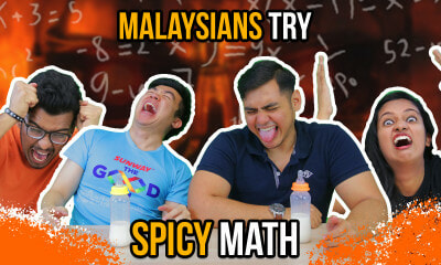 MALAYSIANS TRY SPICY MATH - WORLD OF BUZZ