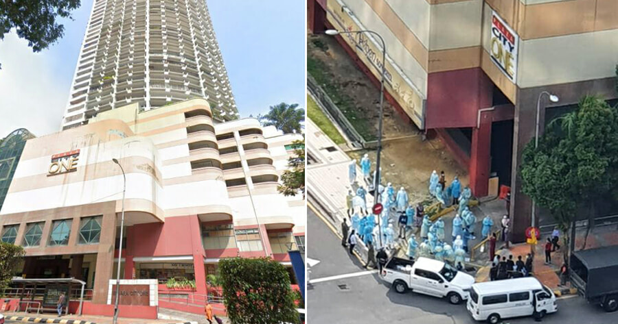 Malaysia's FIRST Residential Building On Lockdown, Residents Cannot Leave Building - WORLD OF BUZZ 1